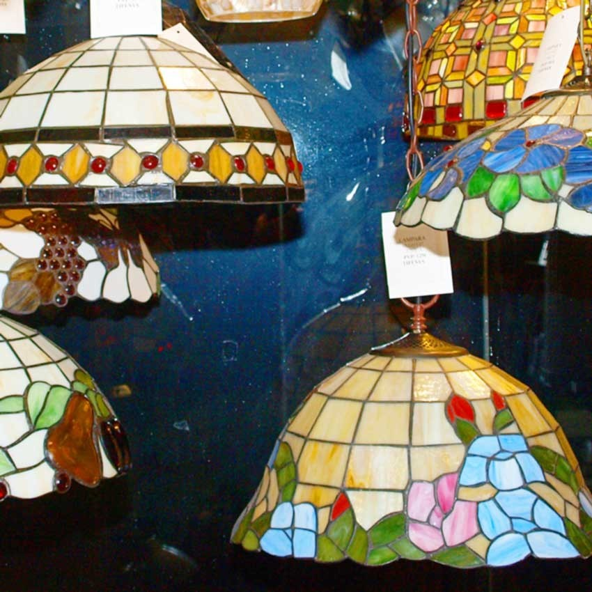 Lámparas e iluminación de estilo Tiffanys